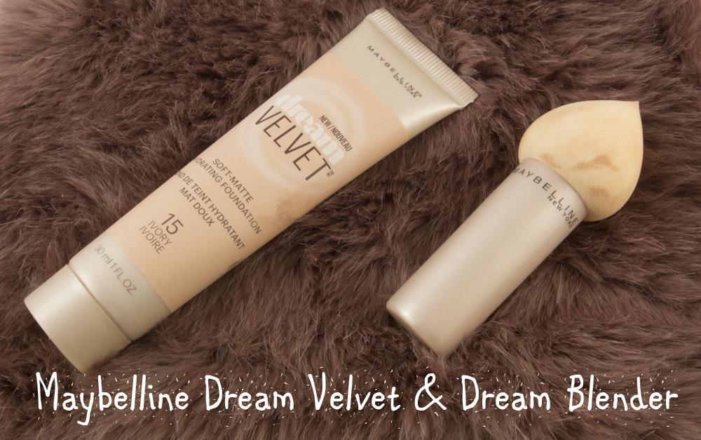 Maybelline Dream Velvet Ivory & Maybelline Dream Blender