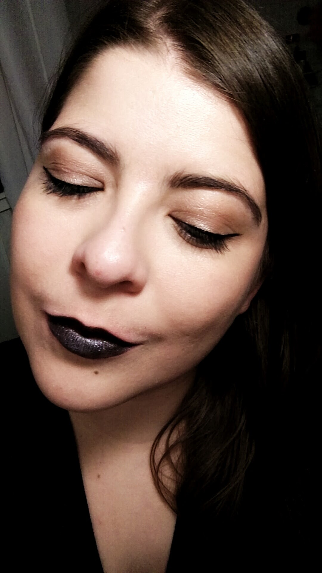 March 2016 - Dark lipstick what!