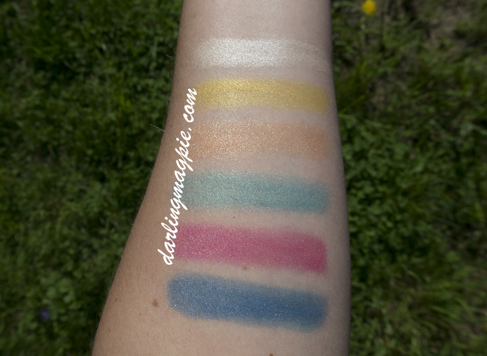 Swatched without primer or base.