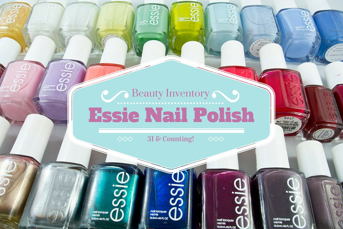 My Essie Nail Polish Collection!