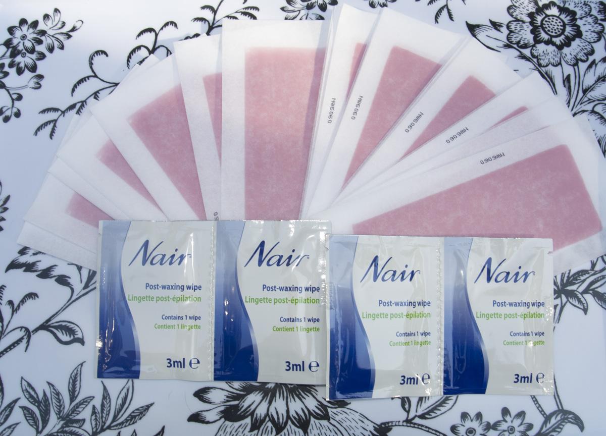 Nair Wax Ready-Strips - The Kit!