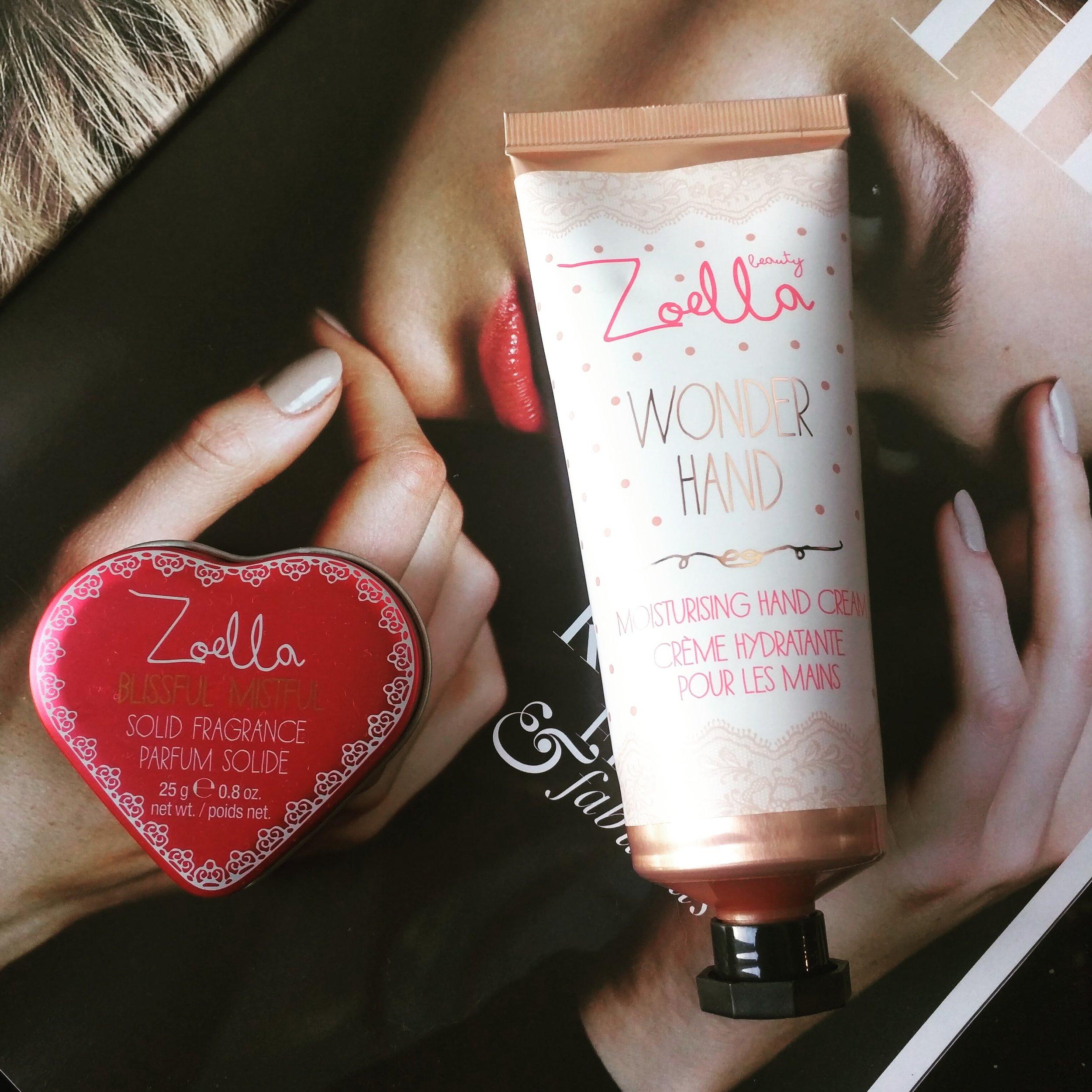 Zoella Beauty Blissful Mistful & Wonder Hand