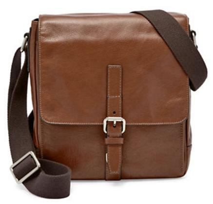 Fossil Davis Leather City Bag