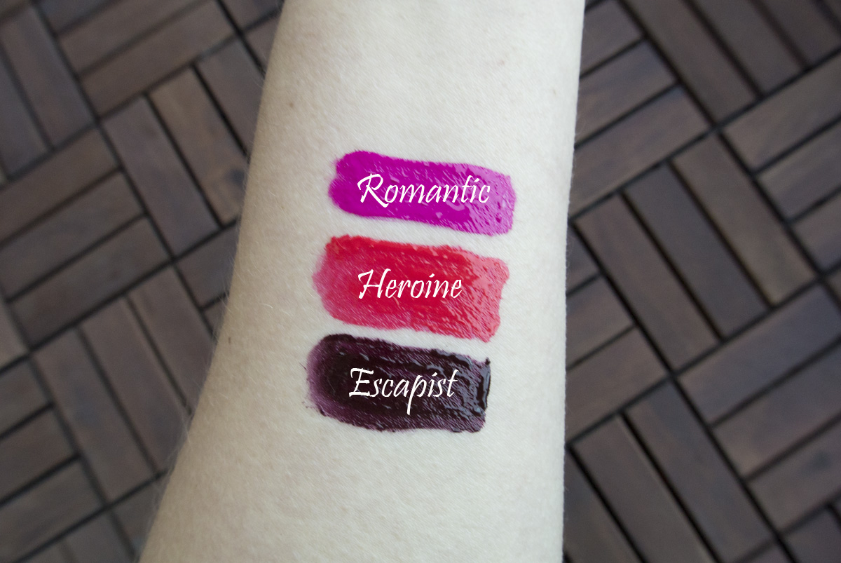 Gimmie, gimmie more! Maybelline Super Stay Matte Ink in Romantic, Heroine, Escapist