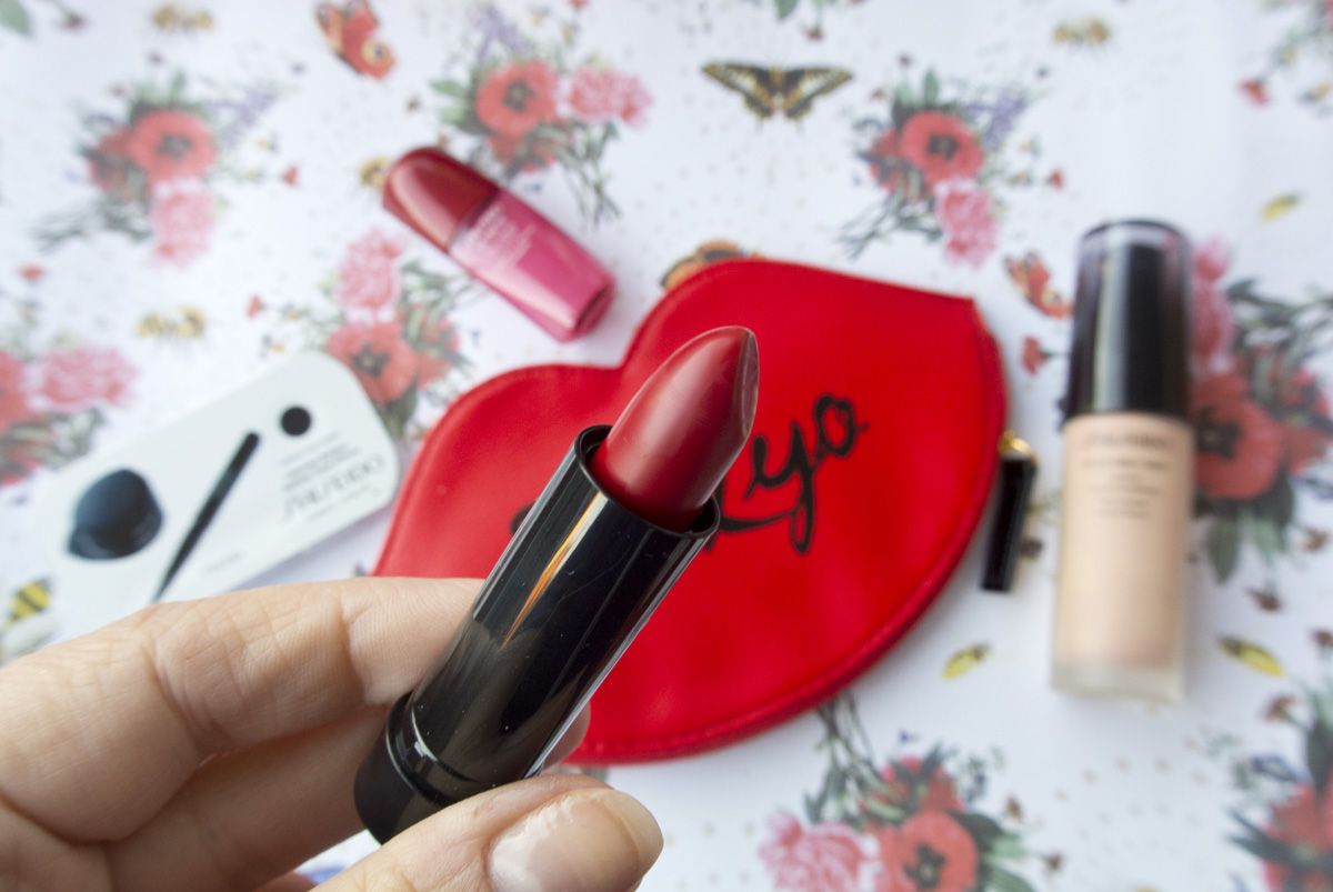 Shiseido Rouge Rouge Lipstick in Ruby Copper