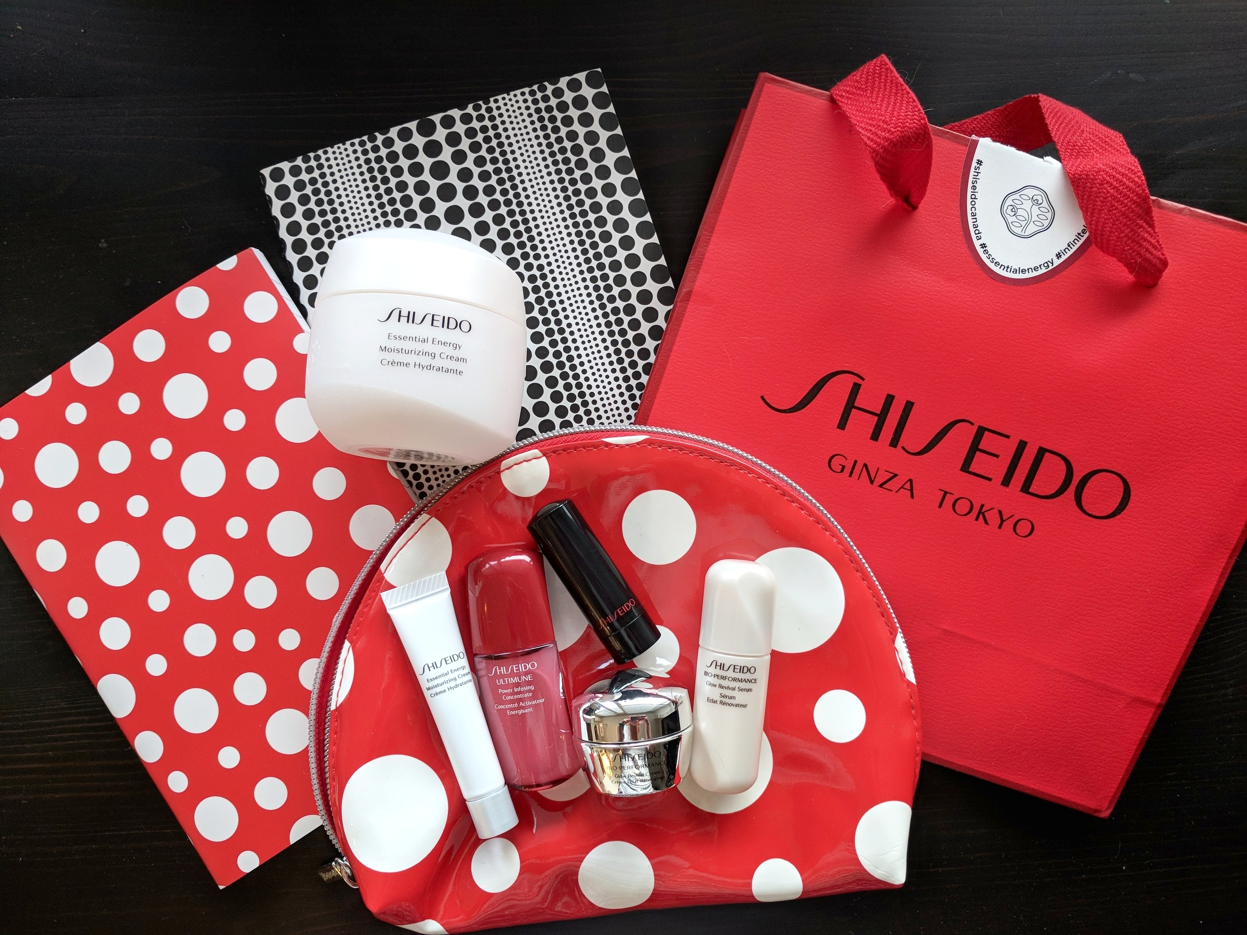 Shiseido Essential Energy Six-Piece Set Gift With Purchase