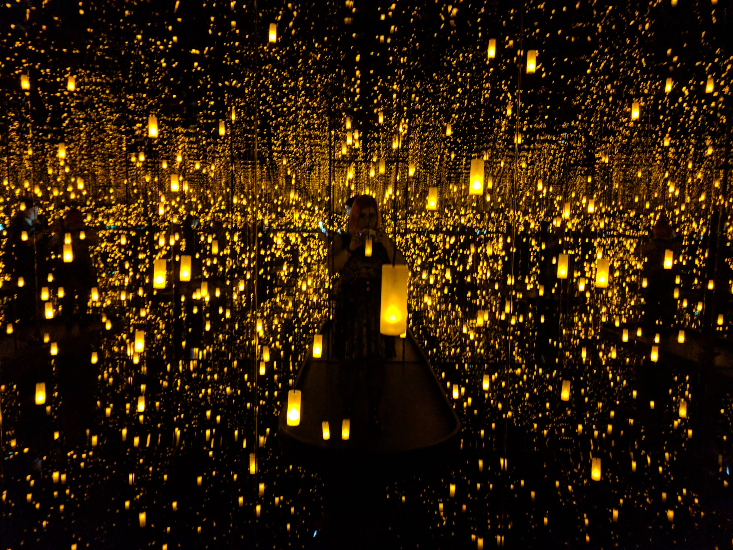 Yayoi Kusama - Aftermath of Obliteration of Eternity, 2009