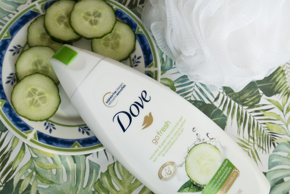 Dove Go Fresh Cucumber and Green Tea Body Wash