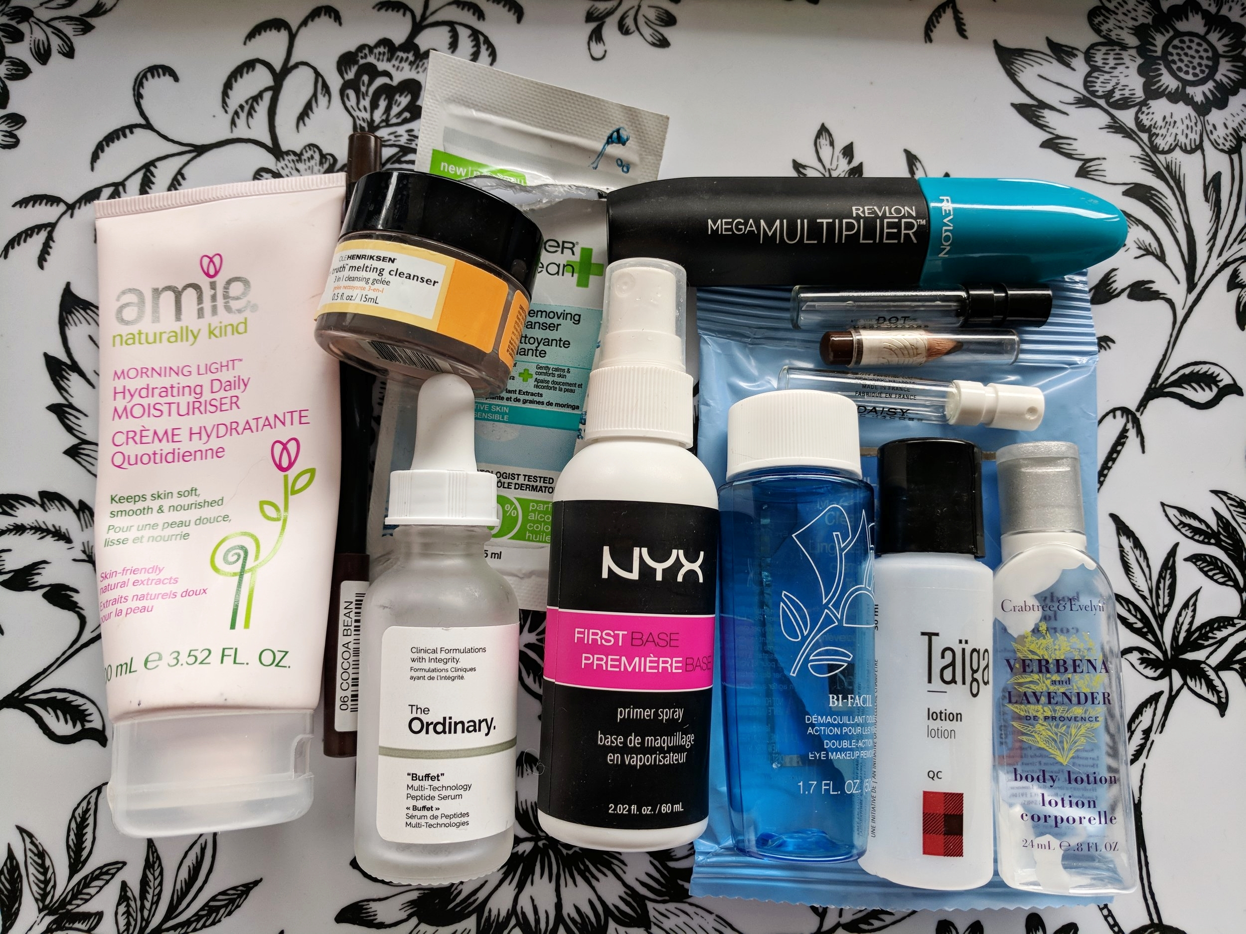 March 2018 Empties
