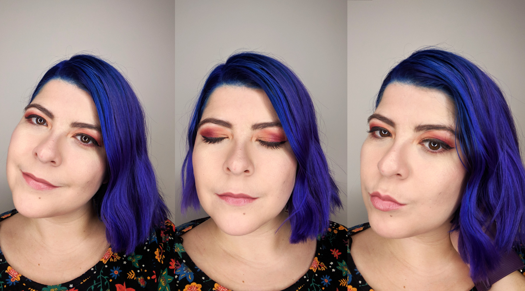 My makeup look wearing all of my favourite products of 2018!