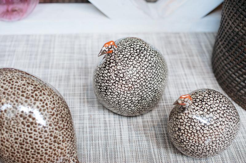 Glass guineas // Pomegranate Seeds