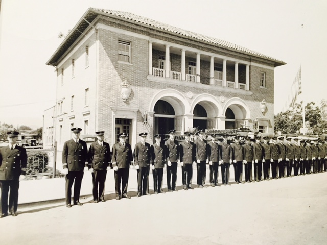 Redwood City's Fire Station No. 1 was remodeled and expanded to house the City of Redwood City Main Library in 1989.