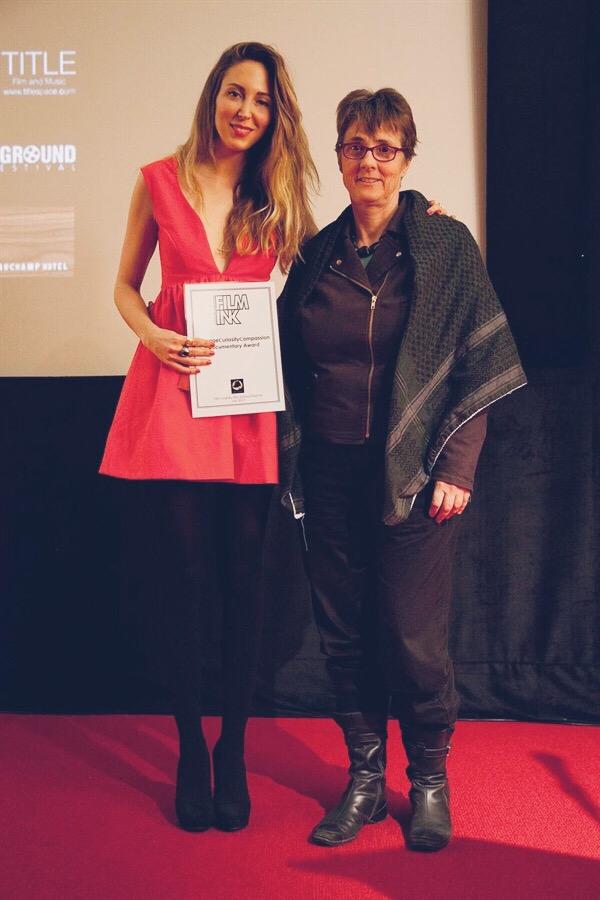 Accepting A Film Award