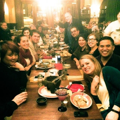 The closing night dinner for the cast and crew at Zapatista's. These people...oh man, these people are some of the best people I've ever worked with. An incredible, miracle-working, temporary family that I'll love for life.