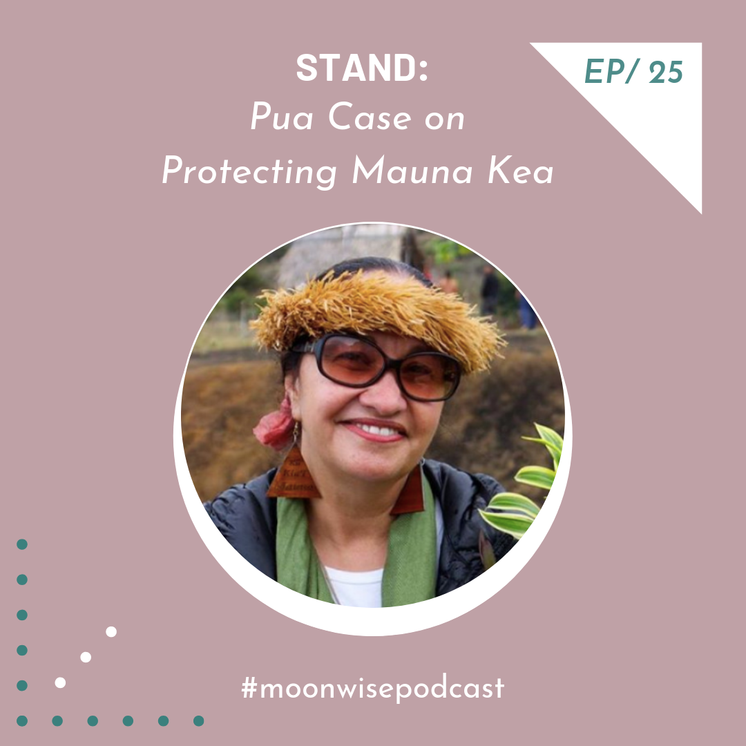 Episode 25: Stand - Learn about the urgent stand for Mauna Kea with Native Hawaiian water protector Pua Case.