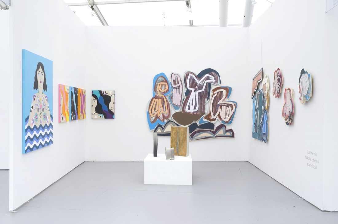 Denny Gallery named one of the 13 Best Booths at UNTITLED Miami Beach by  Artsy . By Molly Gottschalk.