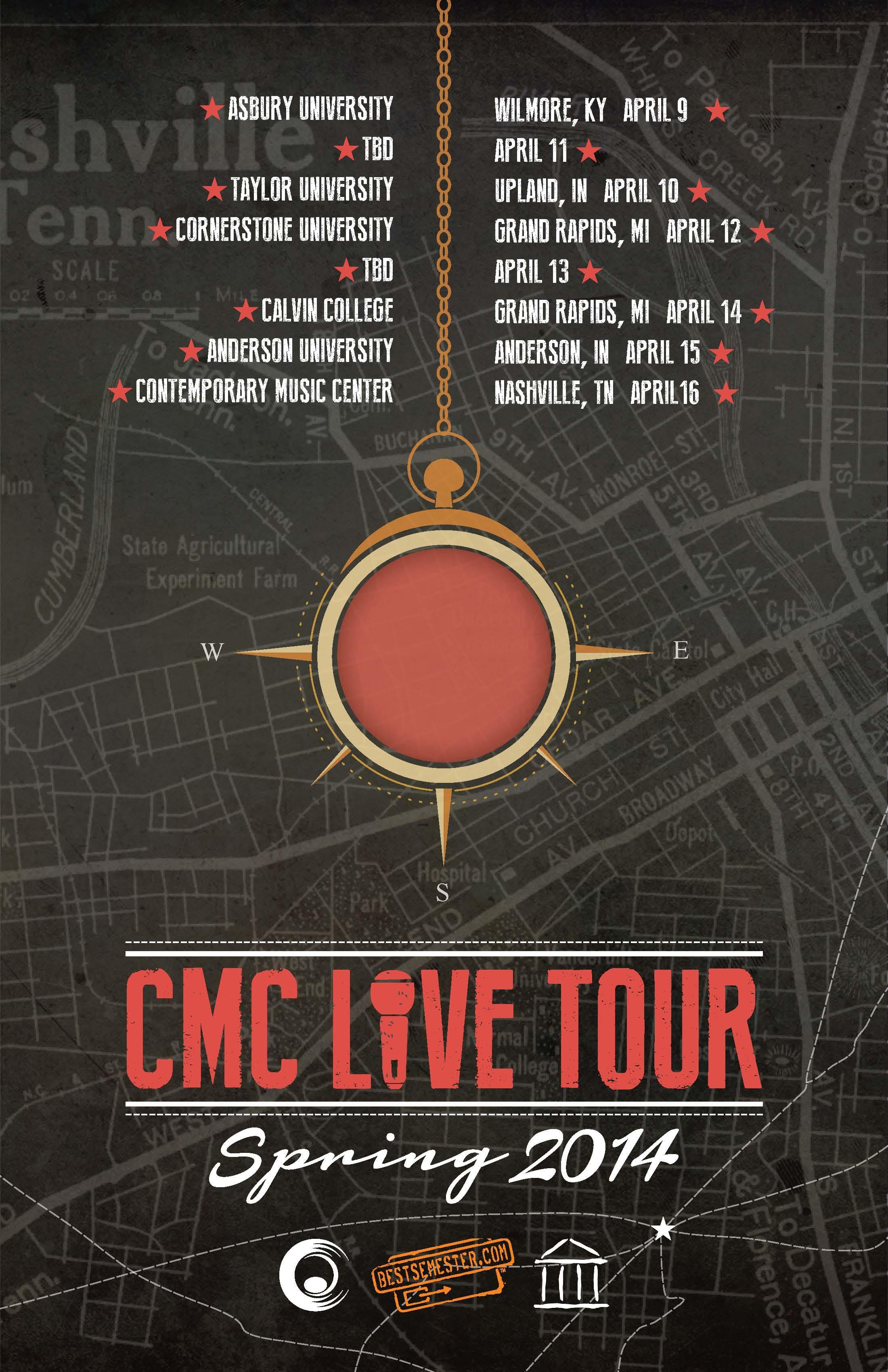Poster 14 - CMC Live Tour 2