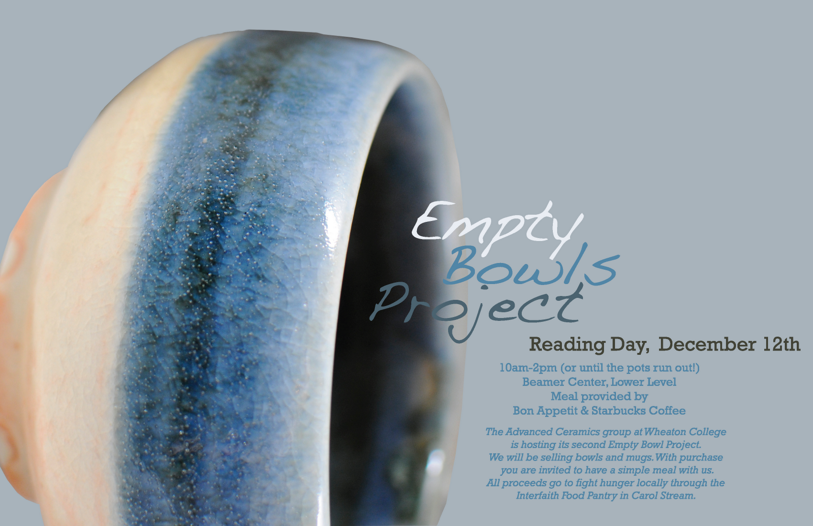 Poster 1 - Empty Bowls