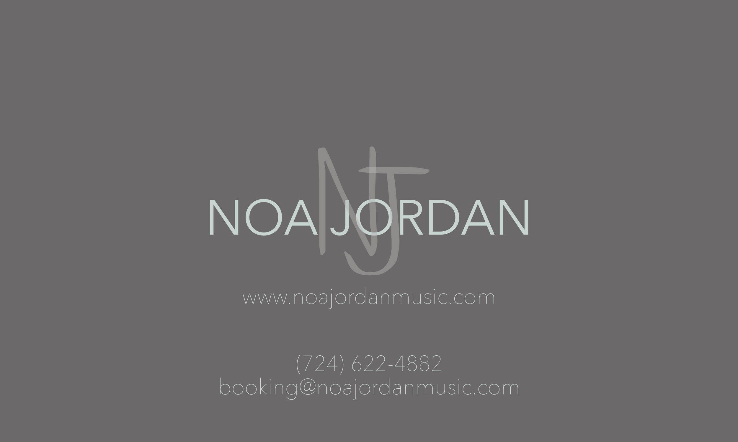 Artist Business Card