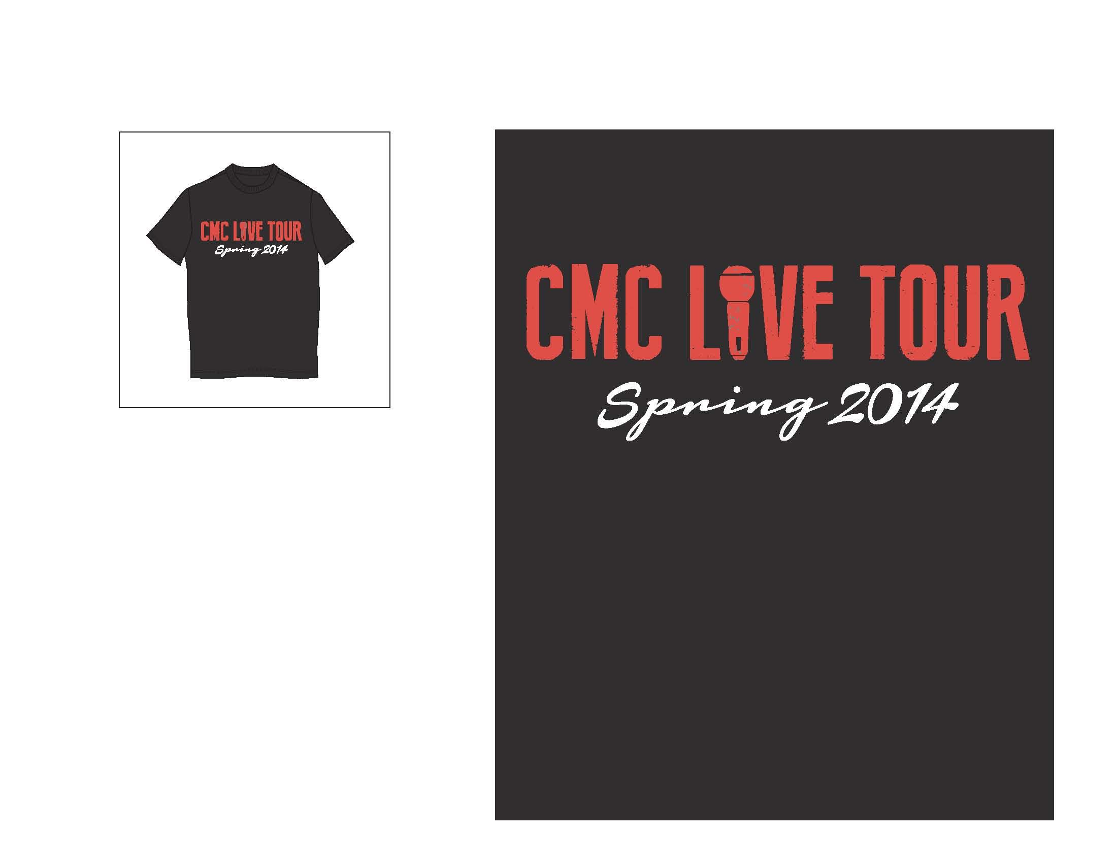 Tour T-Shirt 2 Front