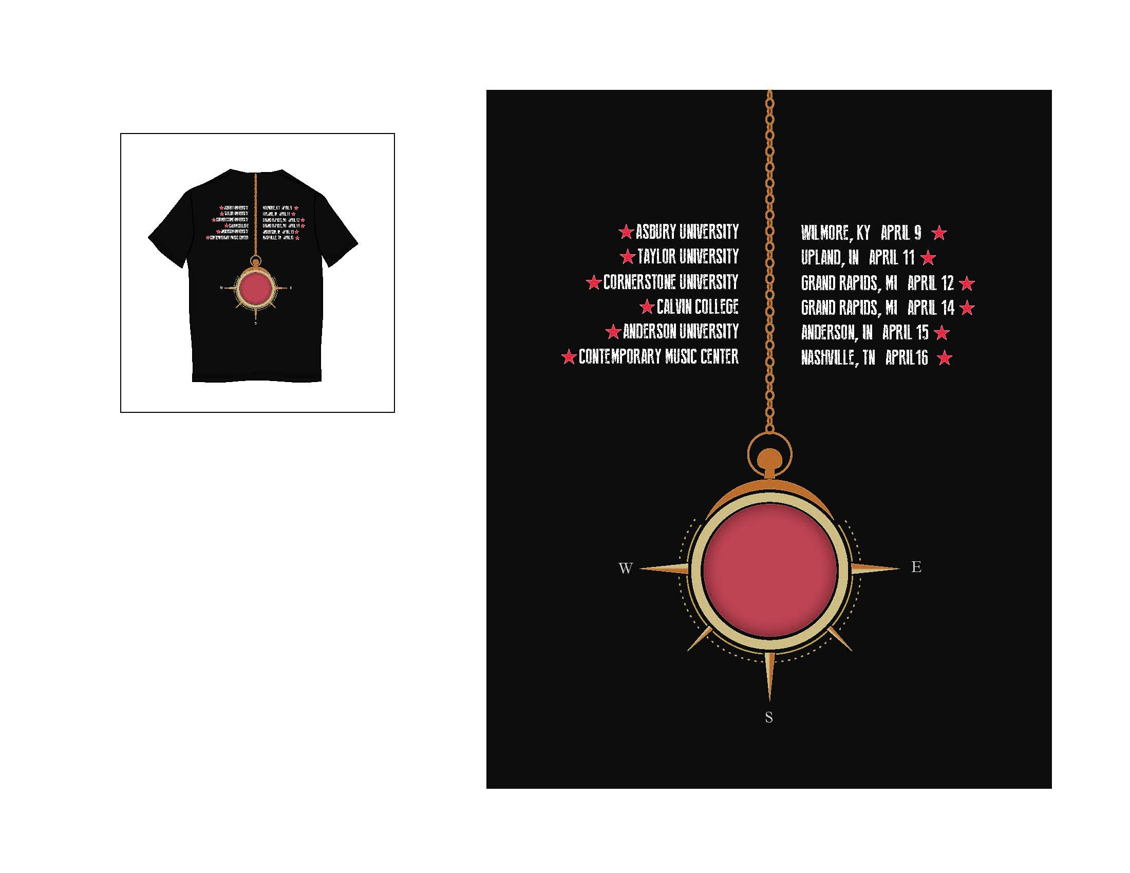 Tour T-Shirt 2 Back