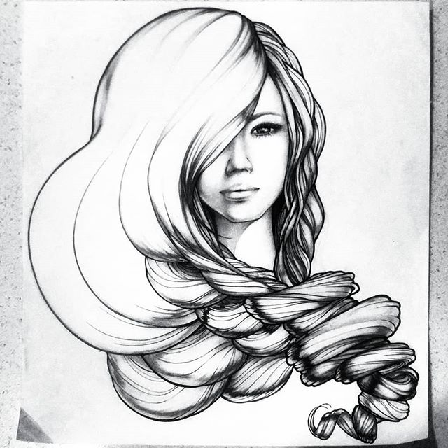Drawings from the past.. Reappearing as I dig through my art supplies for drafting tools for class! #inspirationperhaps