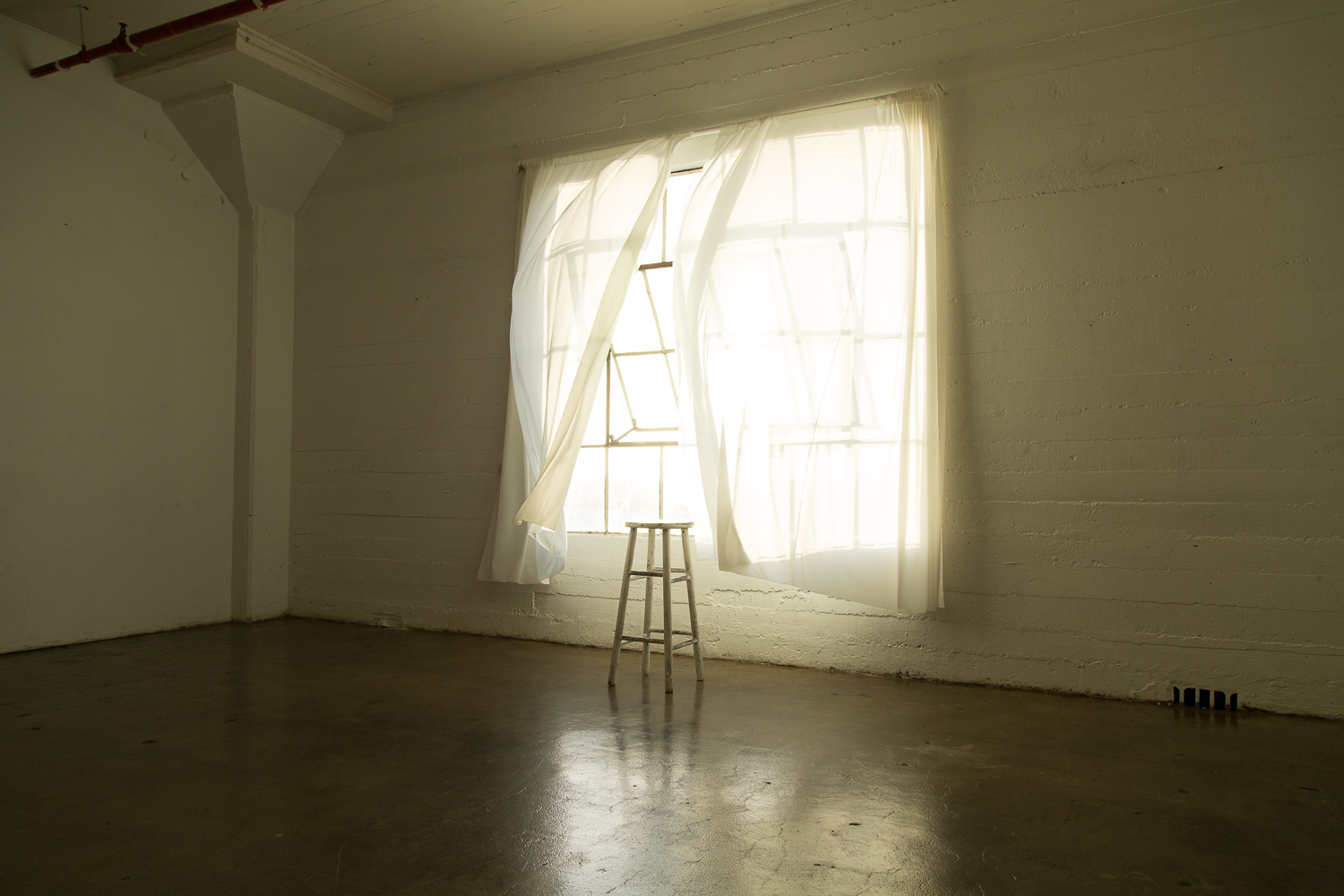 Beautiful Natural Light  in Studio B_Concrete Studios LA