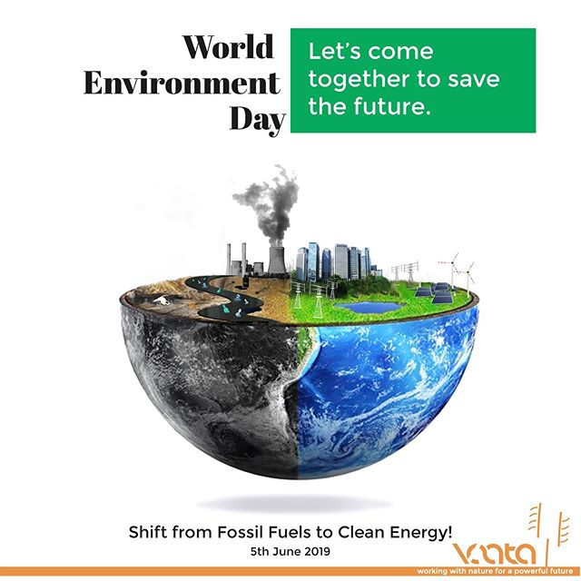 Vaata wishes you Happy World Environment Day!!! This World Environment Day, let's come together to Save the future!  #windenergy #renewableenergy #solarenergy #cleanenergy #renewables #windturbine #windpower #climatechange #wind #energy #windenergie #windfarm #der #electricity #cleanjobs  #solar #windturbines #windmill #windrad #greenenergy #windkraft #solarpower #windkraftanlage #offshore #enercon #environment #jobs #climateaction
