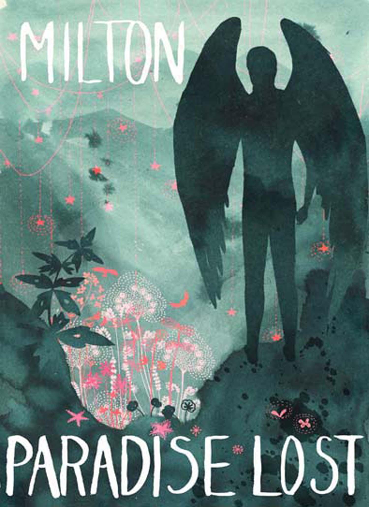 Paradise lost Milton - cover illustration