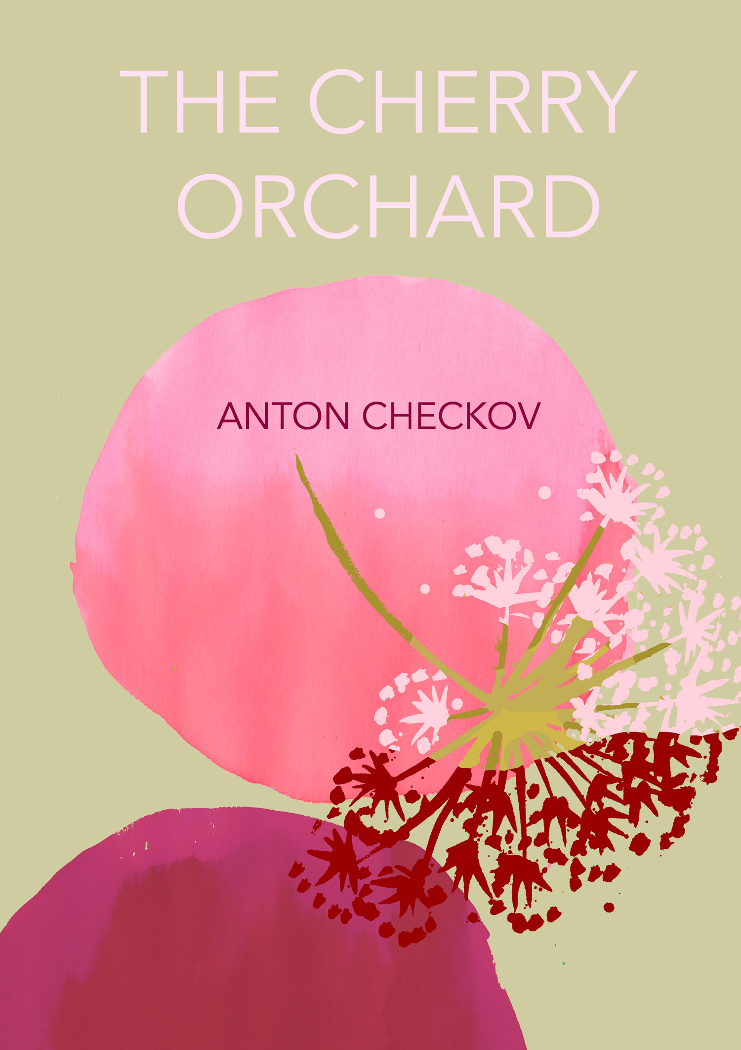 The cherry orchard- cover illustration