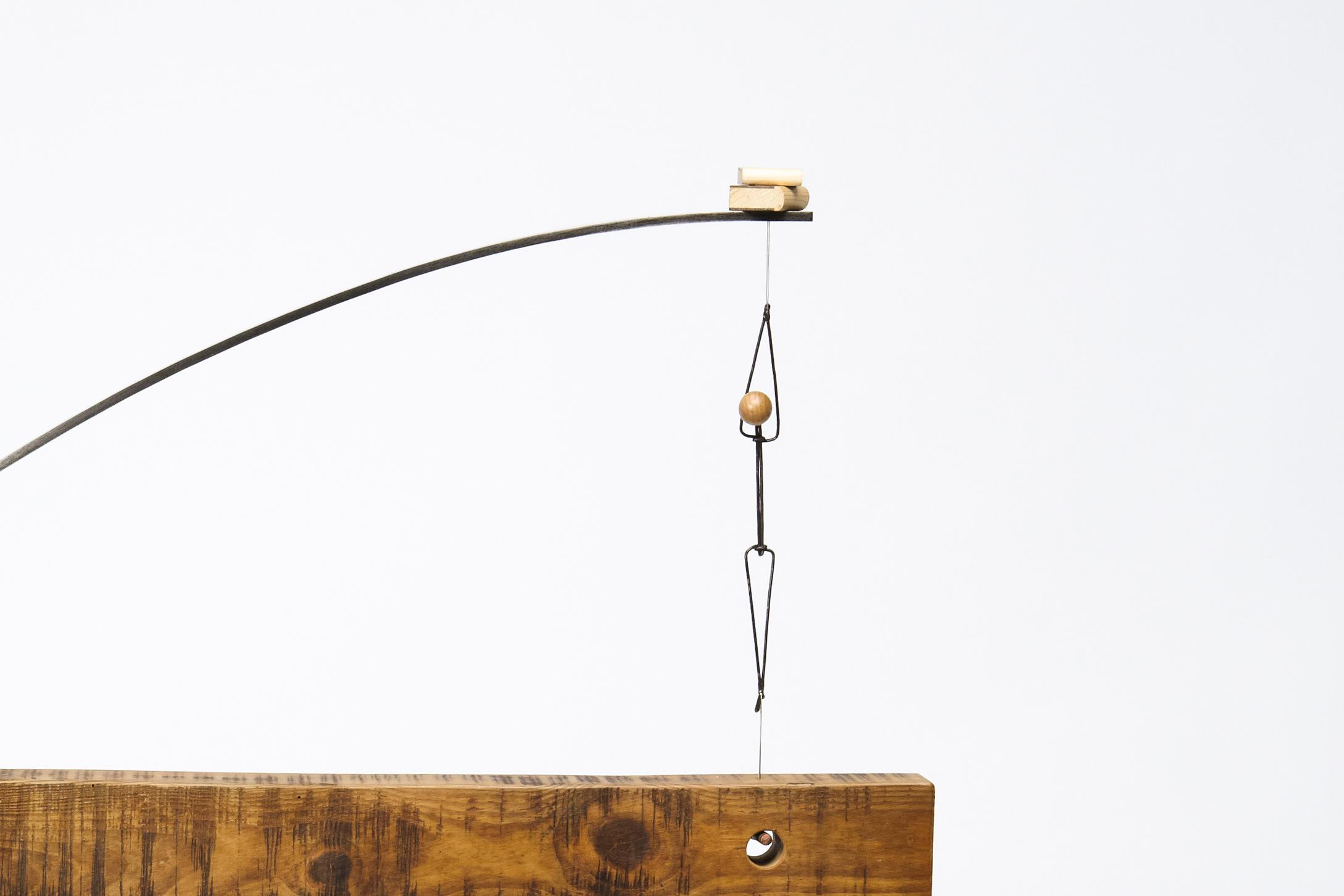 Escultura con personajes Otoko titulada –Crecimiento intelectual-, creada por Antoni Yranzo en el año 2010 en su estudio-taller de Barcelona