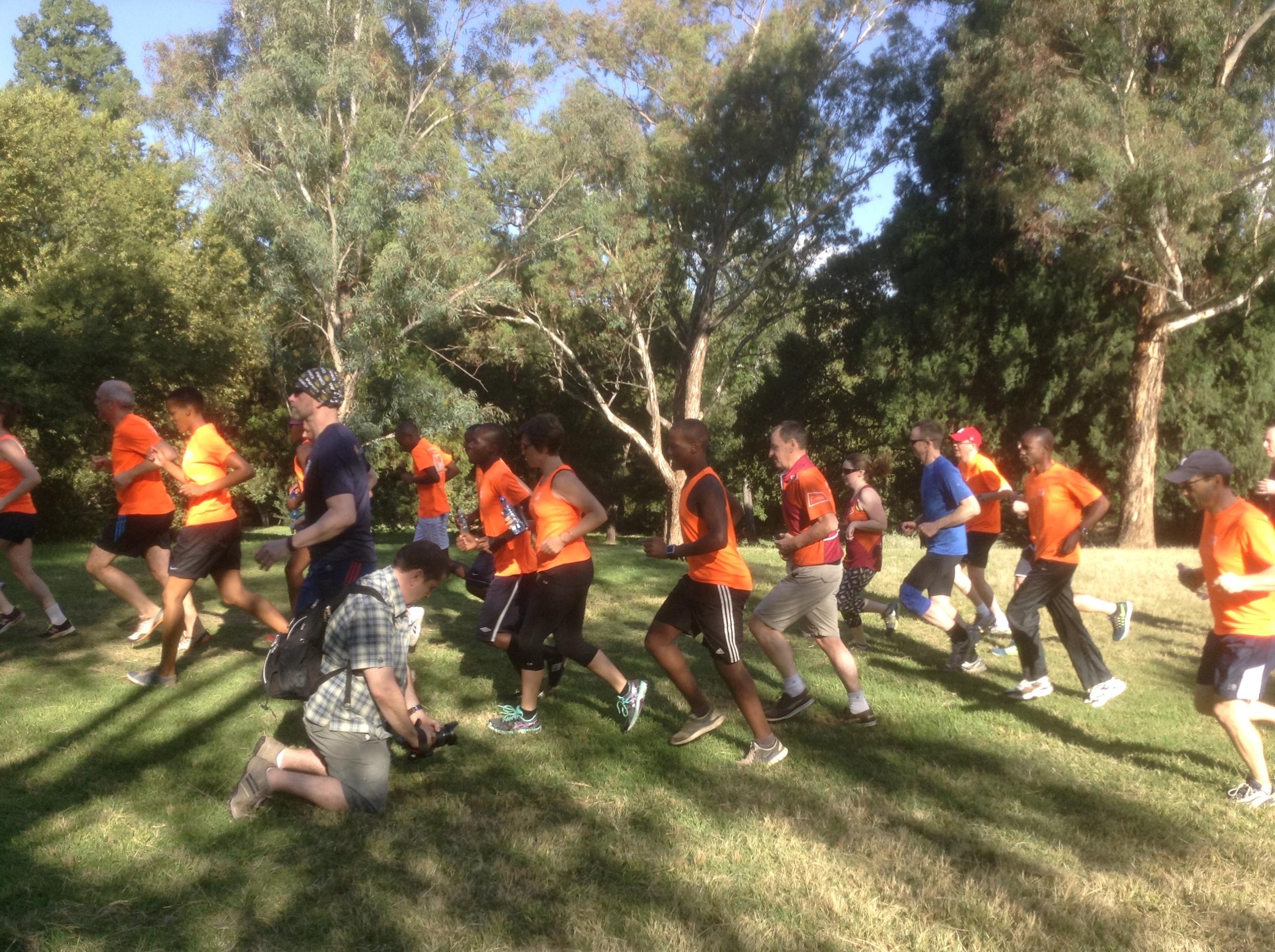 Community Fun Run Johannesburg March 2015