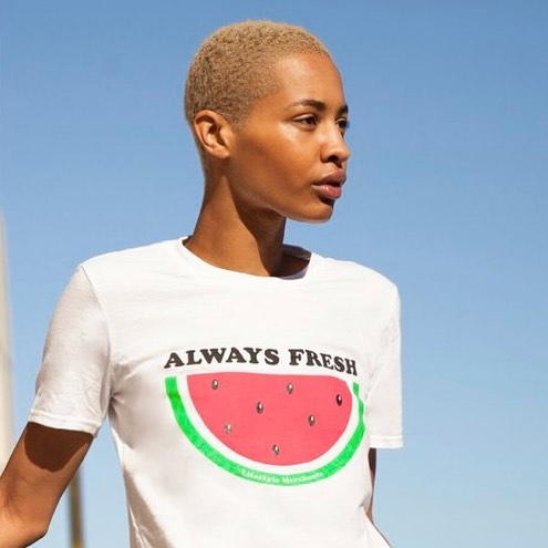 Feeling fresh 🍉🍉🍉 #alwaysfresh #lifestylemerchants #watermelon #saturday #weekend #model #vibes #sydney #bondi #blogger #style #ootd #vegan