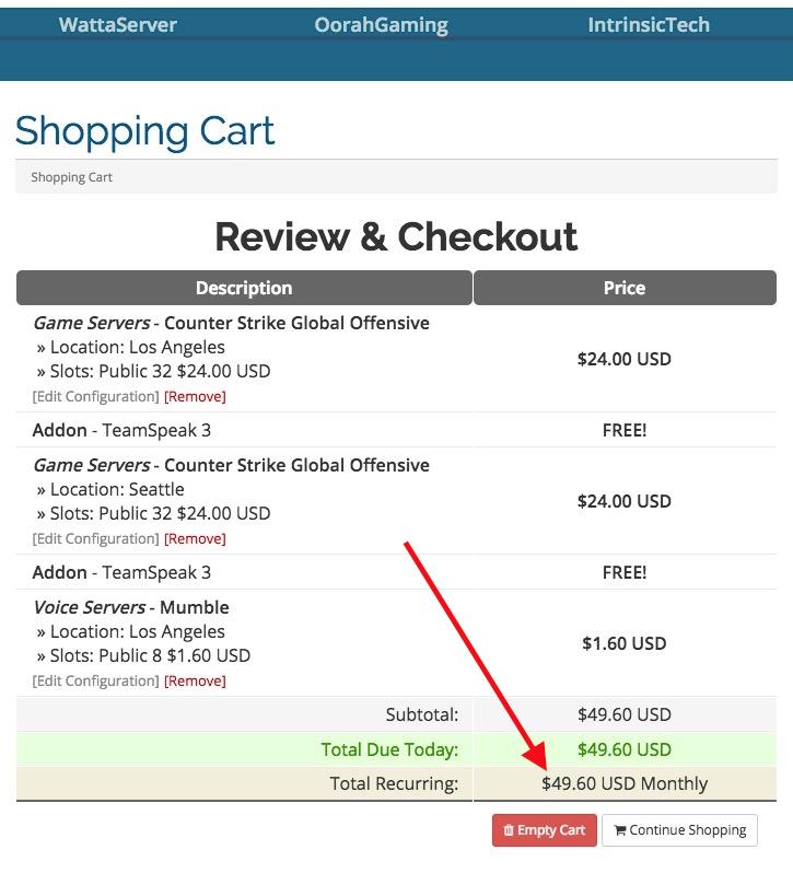 oorah gaming pricing per slot