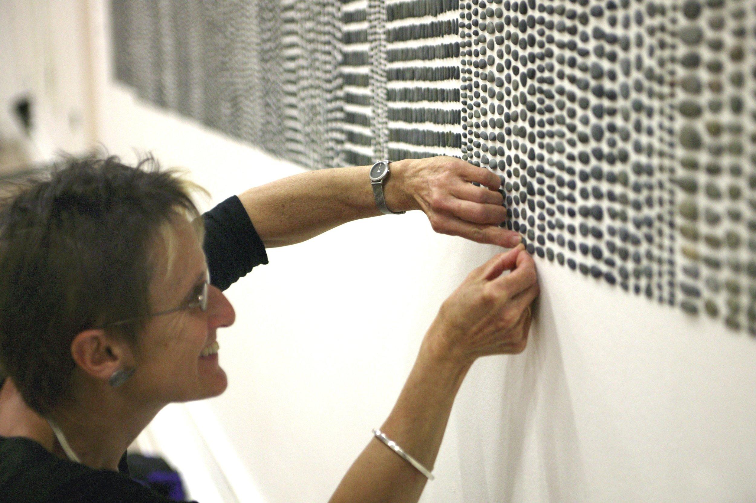 Textile arttist Sue Lawtry