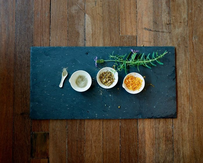 Clay, Chamomile, Calendula and Lavender - just a few of our ingredients