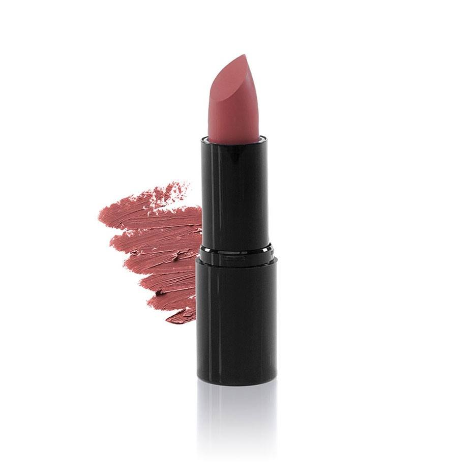 Green People Velvet Matte Berry Nude Lipstick