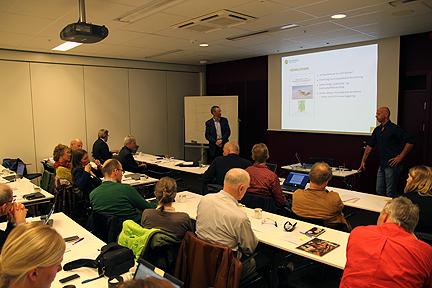 Per Øyvind Grimsby representerer Sira-Kvina og fortalte om regulantenes miljøansvar.