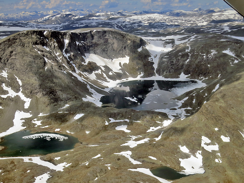 Tveråvatn i Snøhetta Øst.