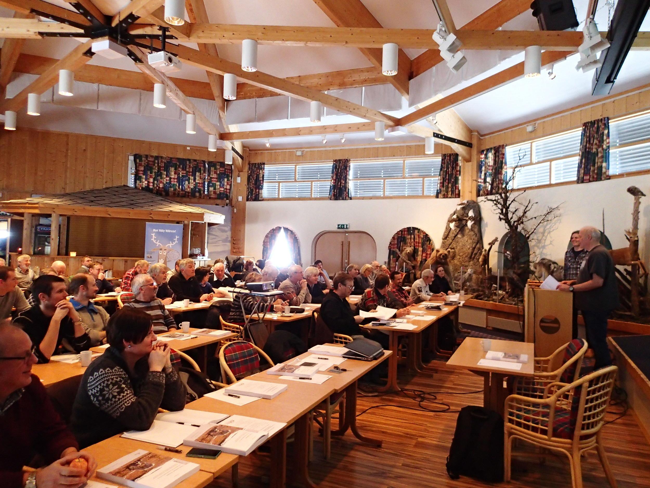 Bra oppmøte og god stemning på sluttseminaret på Spidsbergseter 21.januar 2015.