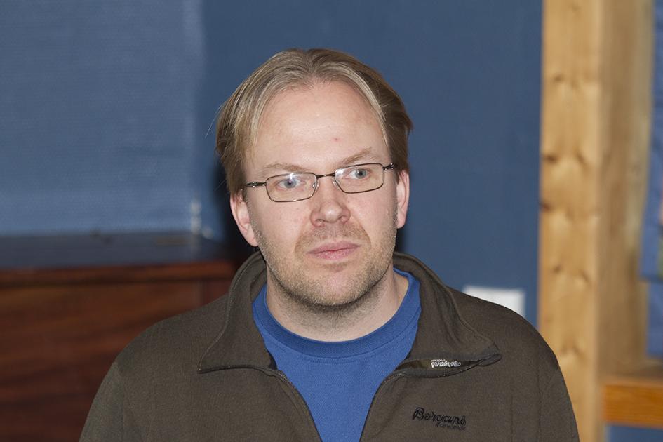 Svein Erik Lund, sekretær i Hardangervidda Villreinutval, er sterkt kritisk til det nye kontrollkortet som ble tatt i bruk i fjor høst. Arkivfoto fra 24. november 2012. Foto: Arne Nyaas