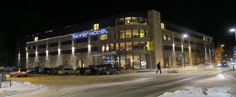 Skifer Hotell Oppdal. Foto: Arne Nyaas