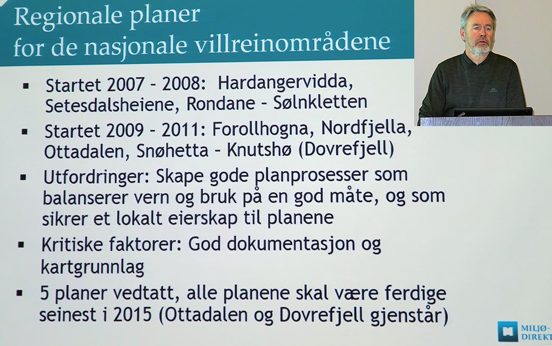 "Vemund Jaren. Last ned presentasjonen "" Nytt fraMiljødirektorate t"" (pdf),inklusive delen om Hjorteviltregisteret/Kari Bjørneraas. Foto: A. Nyaas"
