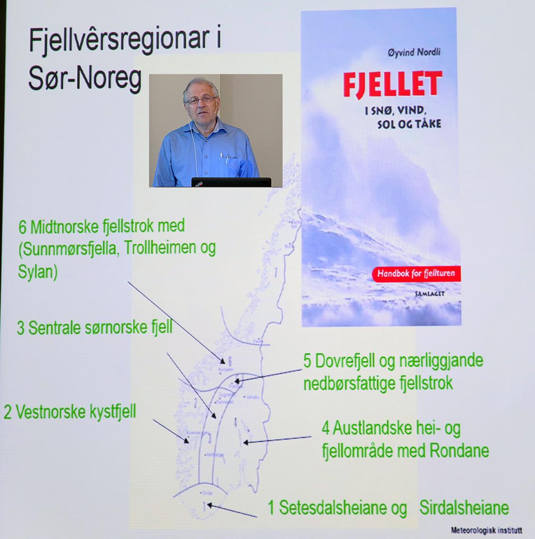 Øyvind Nordli.  Last ned foredraget  (pdf). Foto: A. Nyaas