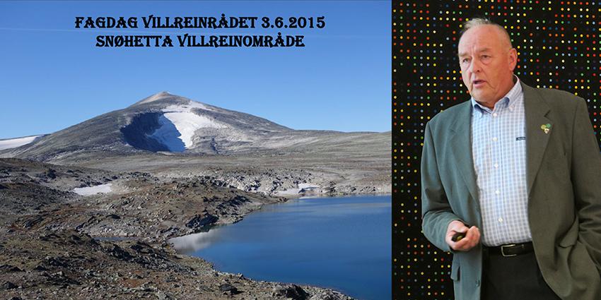 Erland Løkken, leder i Snøhetta villreinutvalg og vert for fagdagen og landsmøtet, orienterte om situasjonen i eget villreinområde.  Last ned foredraget  (pdf).