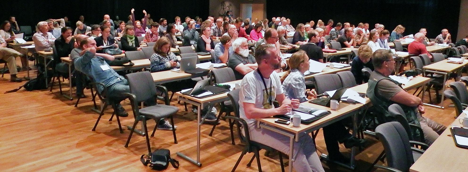 150 forskere og forvaltere deltok fra Norge, Canada, USA, Sverige, Russland, Grønland, Island og Finland. Foto: Tor Punsvik