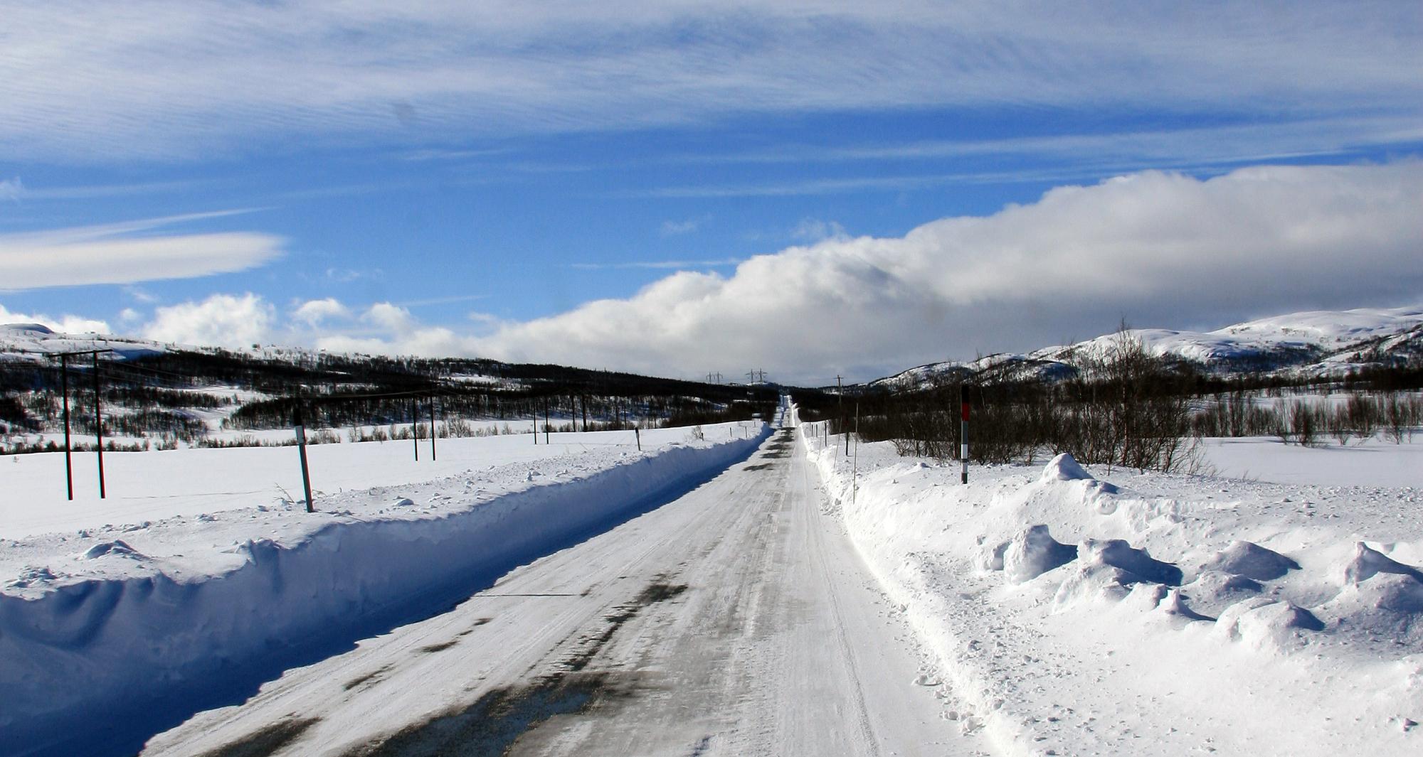Vinterbrøyting kan få store konsekvenser for villreinen. Illustrasjonsfoto: Anders Mossing