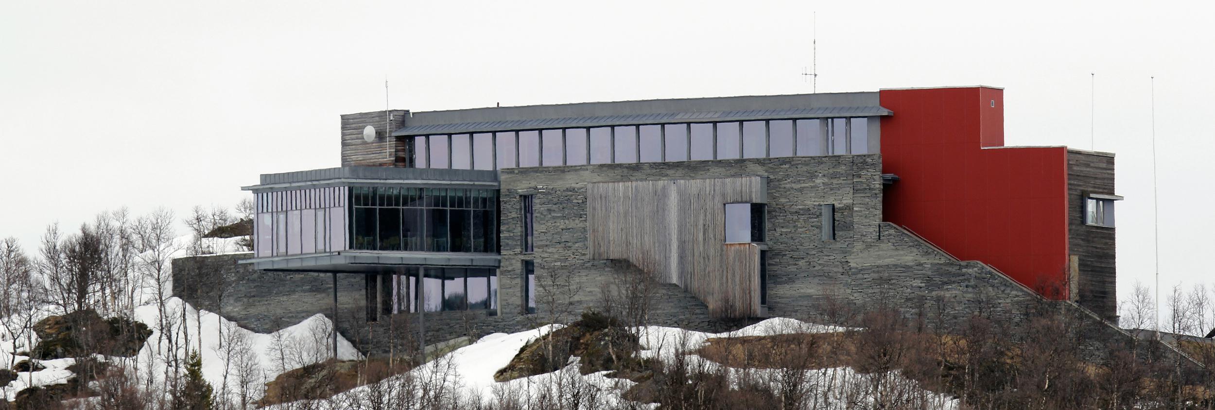 Norsk Villreinsenter Sør/Hardangervidda Nasjonalparksenter. Foto: Anders Mossing