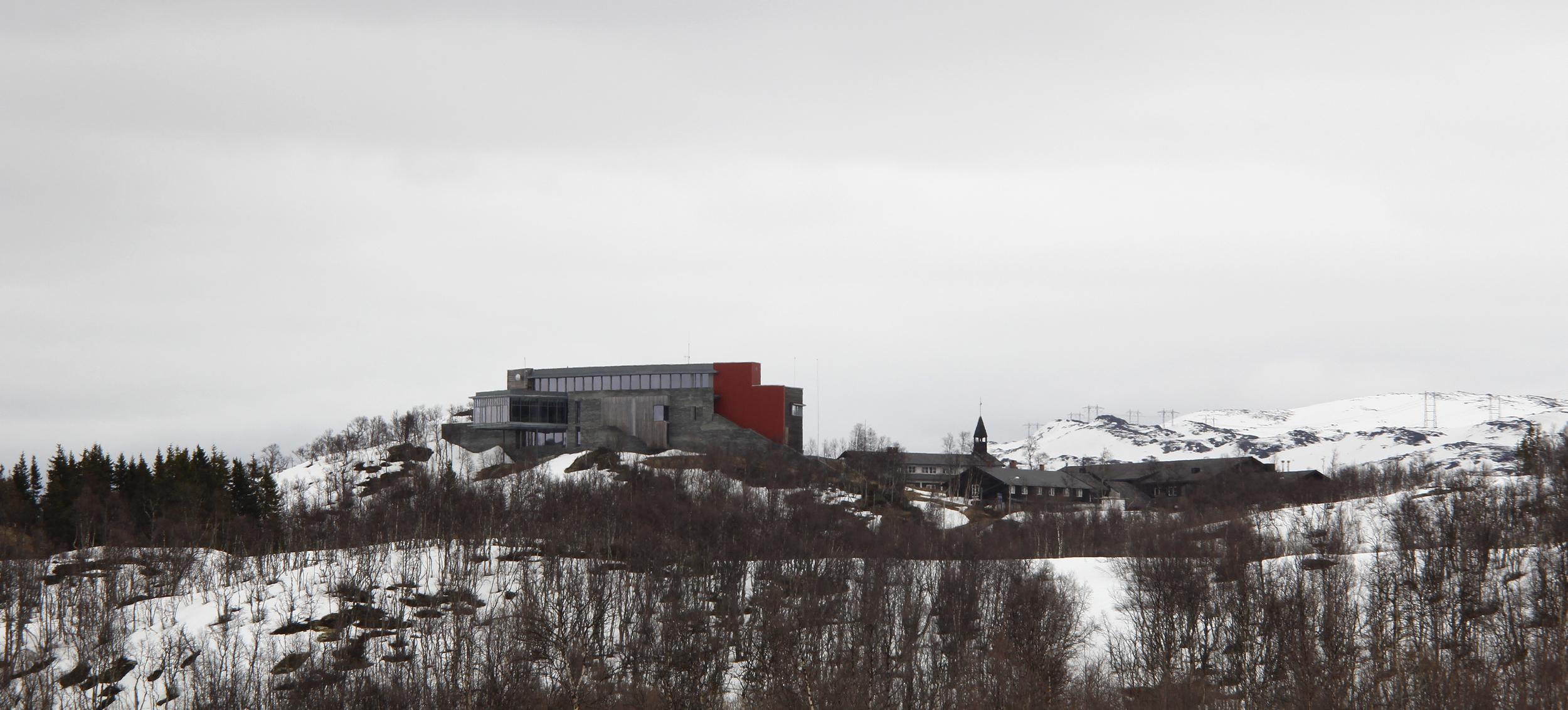 Skinnarbu Nasjonalparkhotell og Norsk Villreinsenter Sør er stedet for Villreinrådets fagdag for 2016. Foto: Anders Mossing