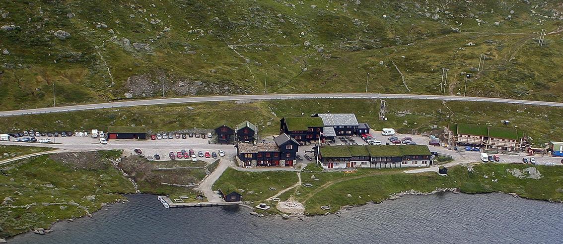 Haukeliseter fjellstove. Foto: Kjell Bitustøyl